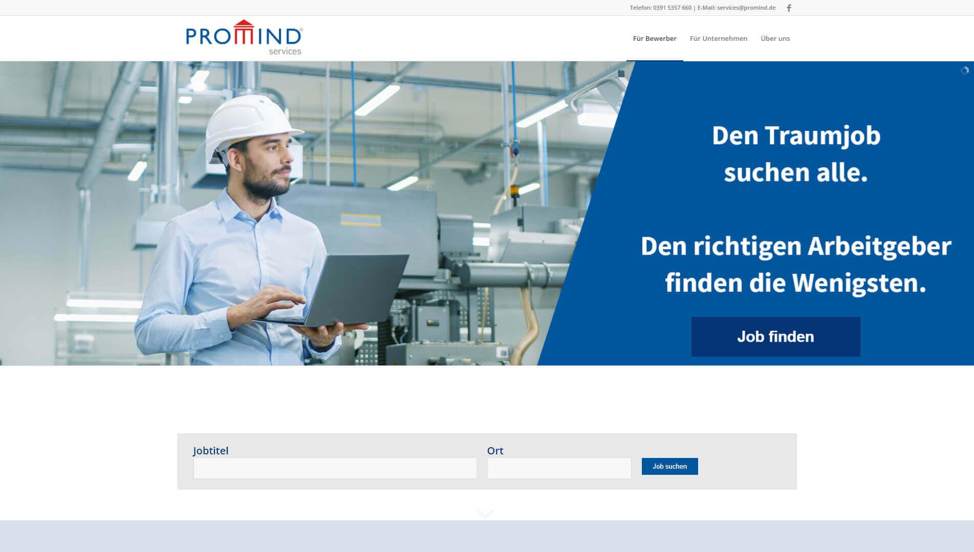 Technische Fachkraft in Zeitarbeit in Magdeburg.