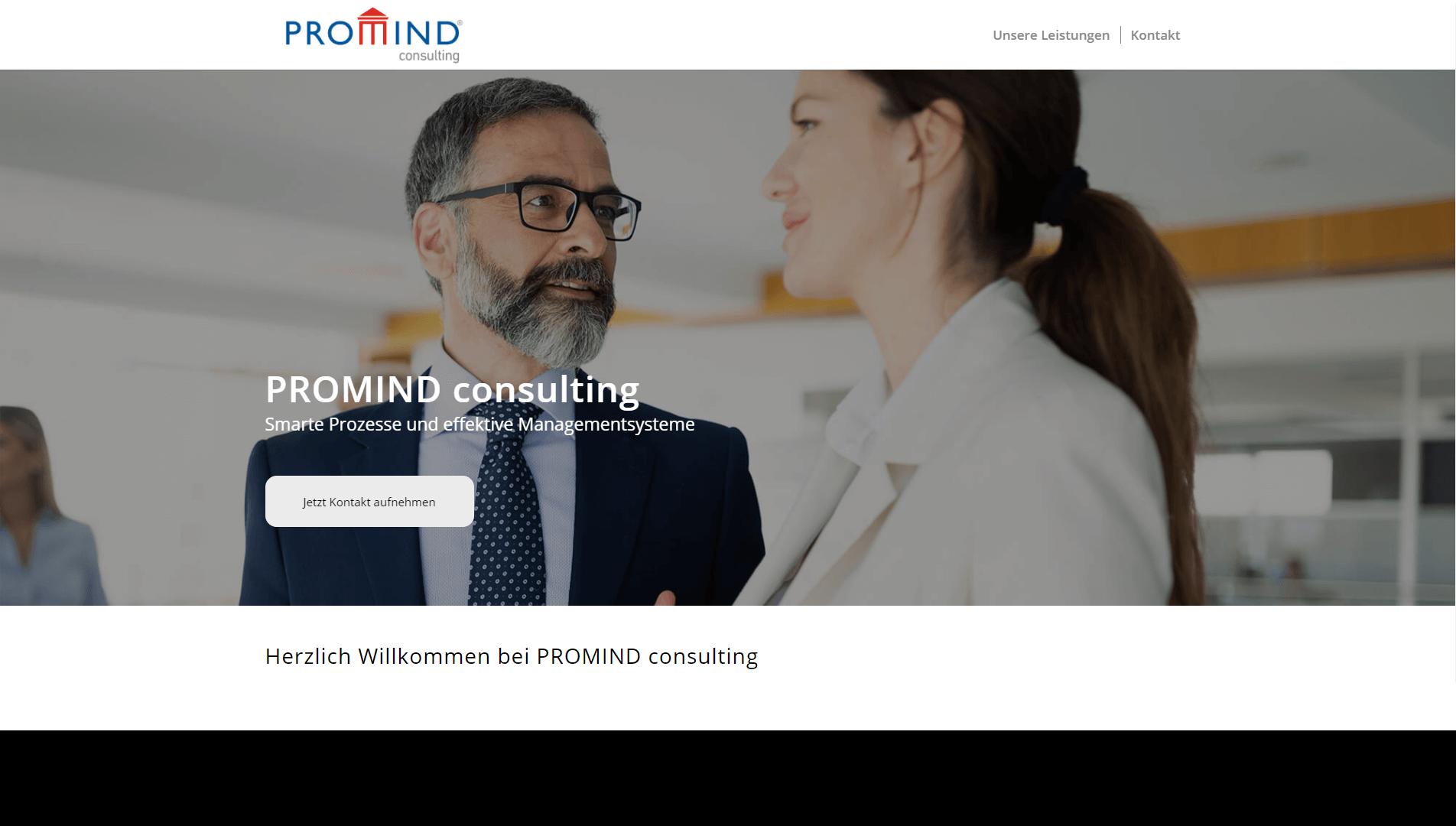 Berater von PROMIND consulting